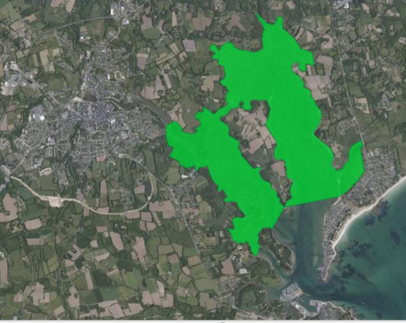 Natura 2000 : Le périmètre de  Combrit