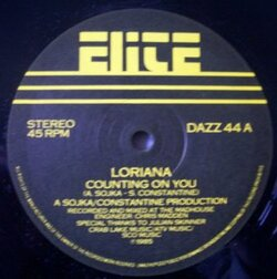 Loriana - Counting On You