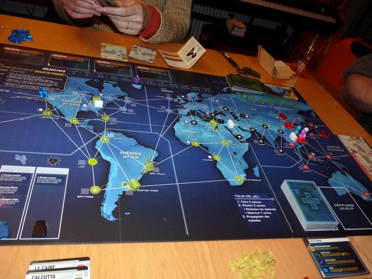 Pandémie Legacy (début juin)