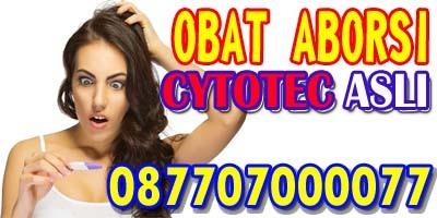 CYTOTEC ASLI OBAT ABORSI TUNTAS