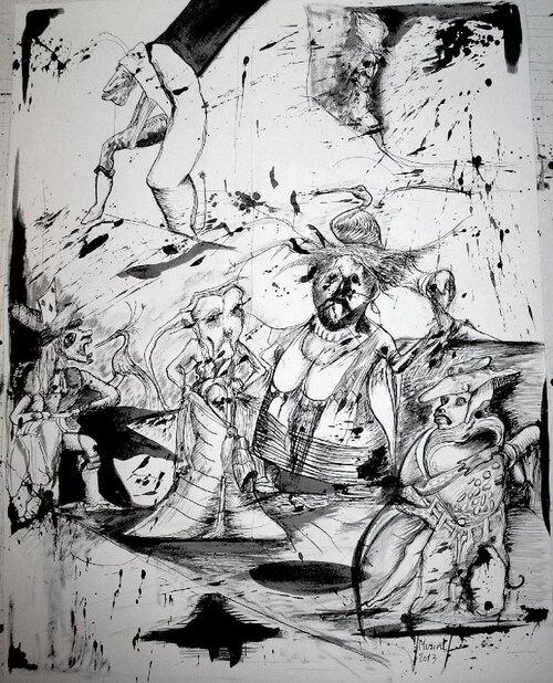 Vente de dessins 2013