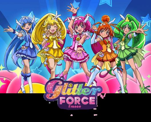 Nouveau site : Glitter Force FR