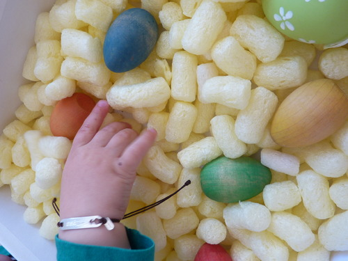 Une Sensory Box Easter ....