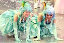 Sayumi Michishige 道重さゆみ Aika Mitsui 光井愛佳 Cinderella the Musical シンデレラ The ミュージカル
