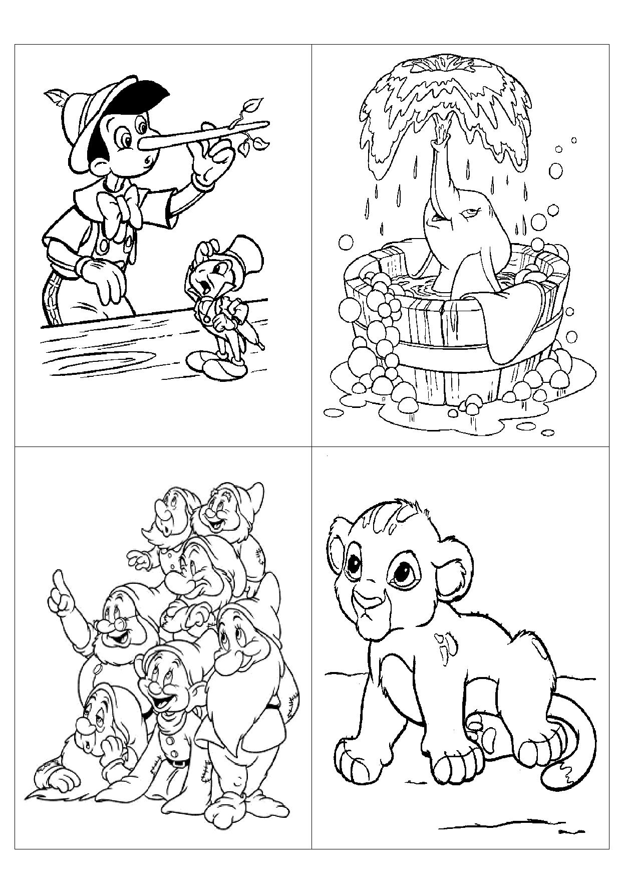 Coloriage a telecharger pdf disney - Coloriage disney ...