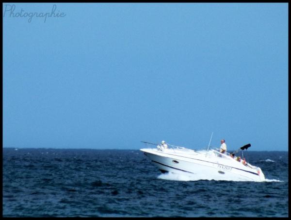 Sur la mer..