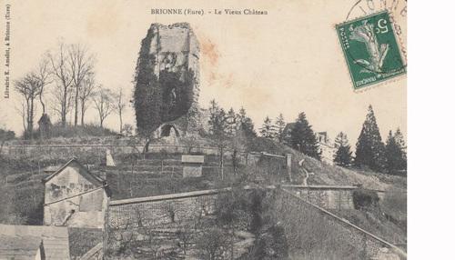 LES REMPARTS DE BRIONNE (Eure)