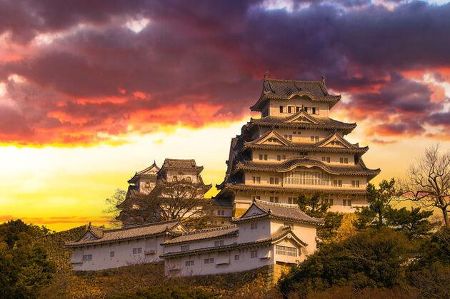 Himeji au Japon