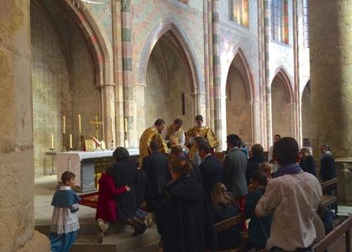 Messe de la saint Thomas d'Aquin