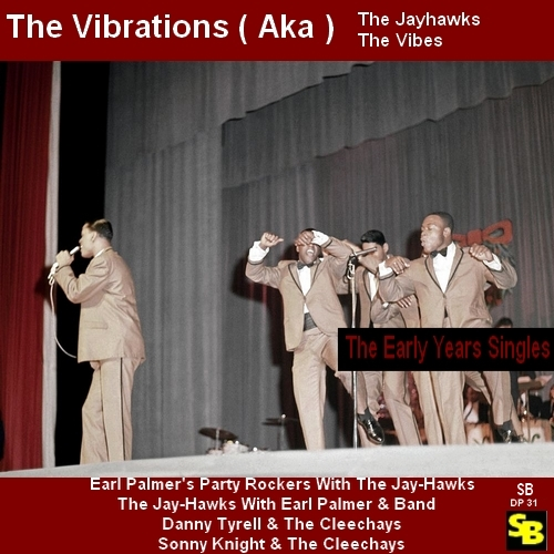 "The Vibrations : CD "" The Early Years Singles "" Soul Bag Records DP 31 [ FR ]"