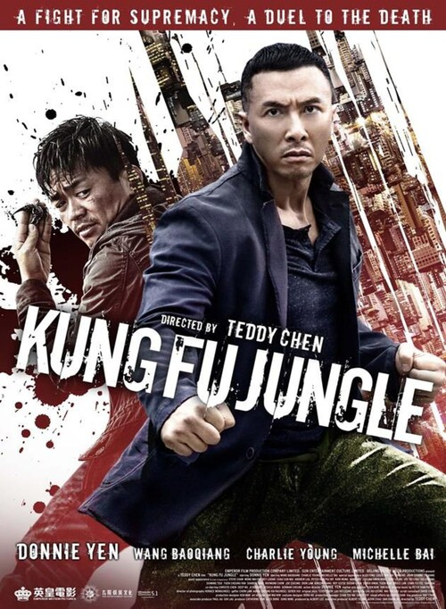 "Bonsoir a l'honneur : "" Kung Fu Jungle """