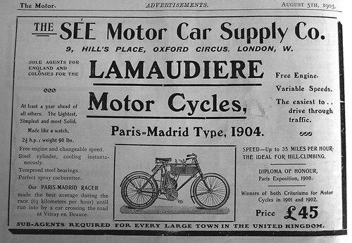 Préhistoire de la moto : quelques images