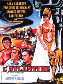 L'ATLANTIDE BOX OFFICE FRANCE 1961