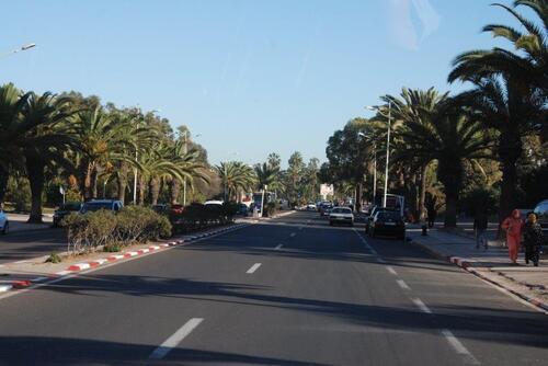Avenue Mohamed V  à Agadir