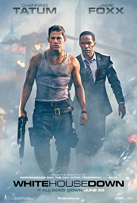 White House Down Movie Poster 1 Face Original 27 x 40 Channing ...