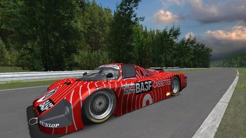 BASF Cassetten Team Sauber SHS C6