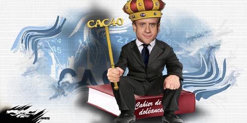 dessin de JERC et texte d'AKAKU du jeudi 06 décembre 2018 caricature Emmanuel Macron va-t-il envoyer l'armée ? Manu Militari ? www.facebook.com/jercdessin @dessingraffjerc