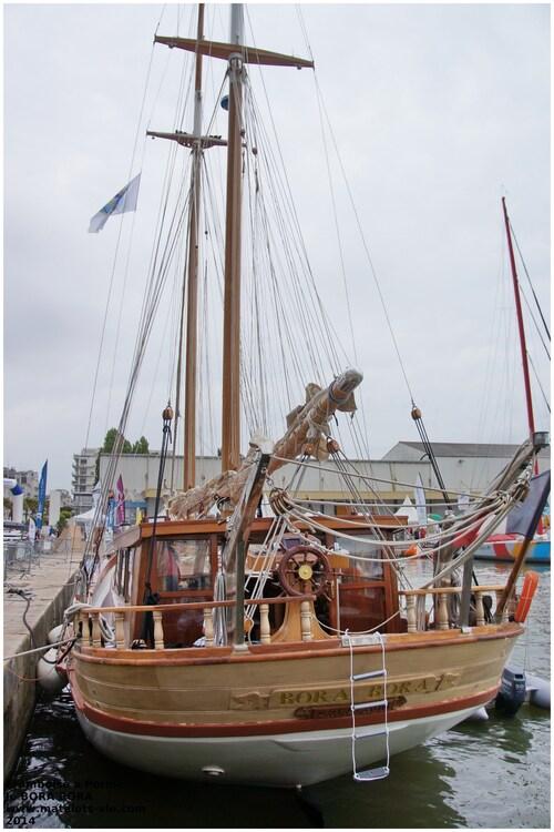 Le voilier BORA BORA présent pour le Record SNSM 2014