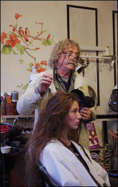Un coiffeur d'antan