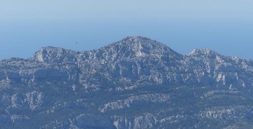 Monts Carpiagne et Saint Cyr