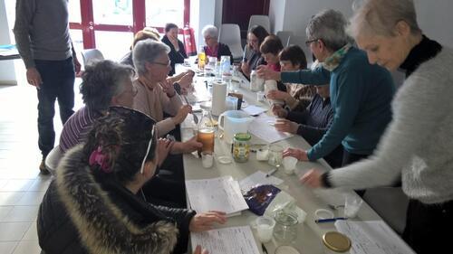 Atelier « Produits Ménagers » pour une association du Sud Ardèche