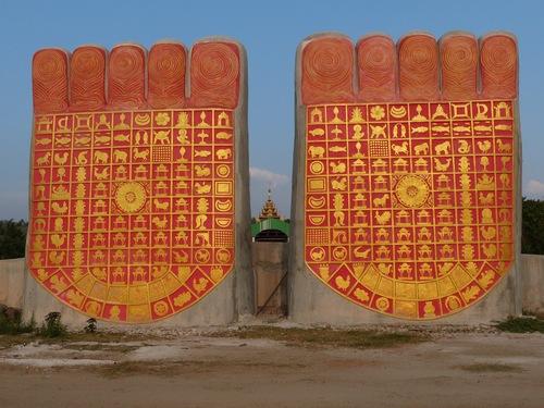 Laykyun Sekkya Buddha; Bouddha géant en construction