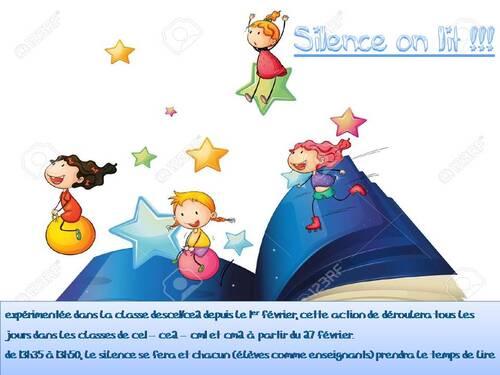 Silence, on lit !!!