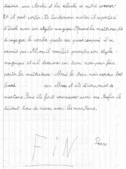 Le stylo magique.page2