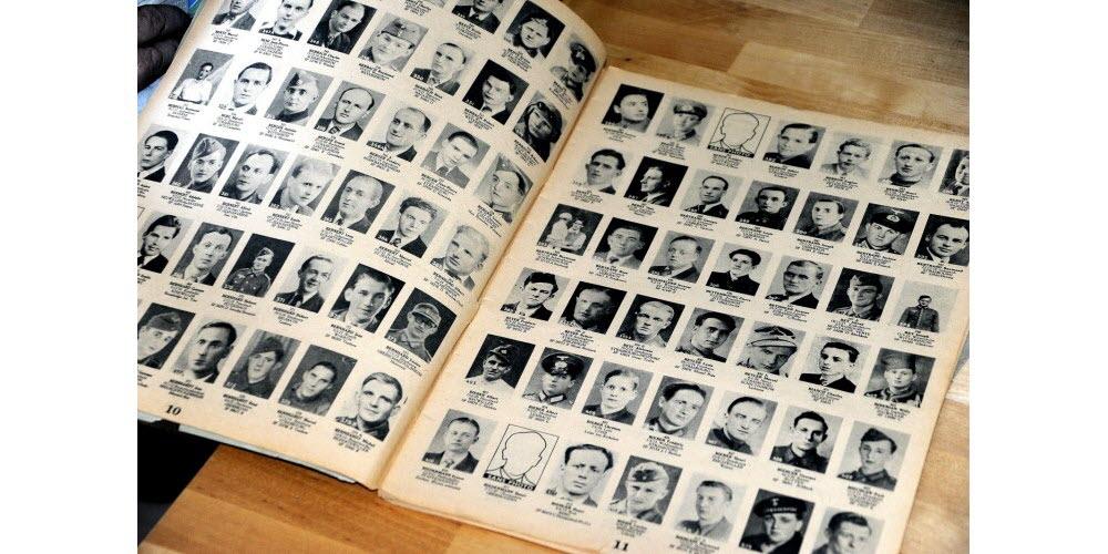 L'un des registres des personnes disparues dans le Bas-Rhin… Photo DNA /Nicolas Pinot