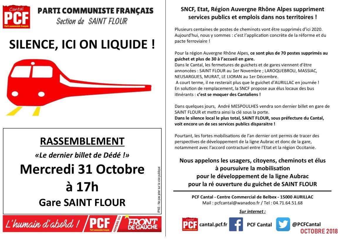 SNCF : Une réforme qui remet en cause le DROIT au transport pour TOUS