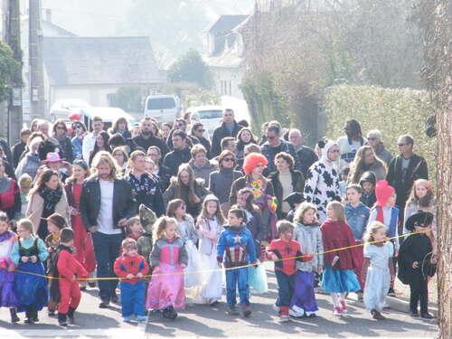 Carnaval des enfants - rue des Mottes