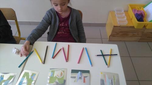 """Les lettres """"bâton"""""""
