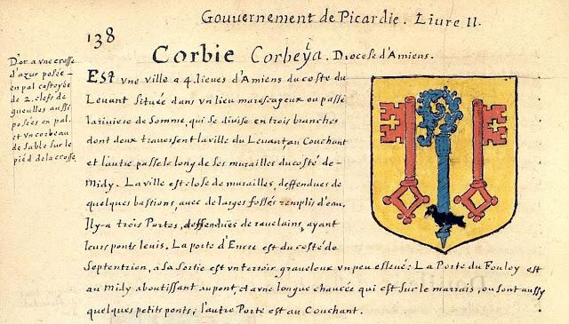 Corbie. Ville et abbaye