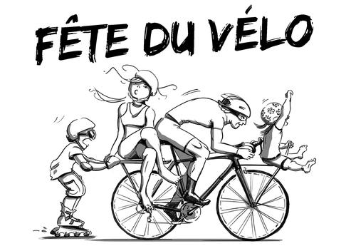 Fête du vélo le 7 mai à Dambach la ville