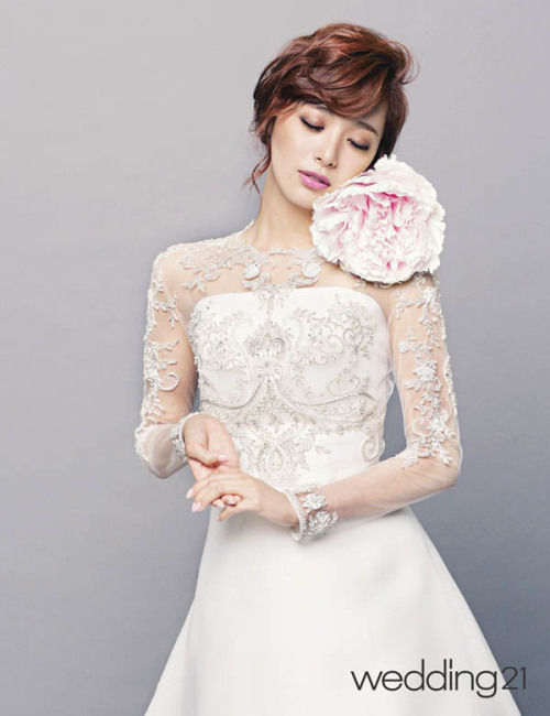 Lee Young Eun - Wedding21 Magazine August Issue '14