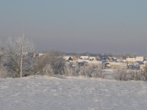 Baigneux sous la neige