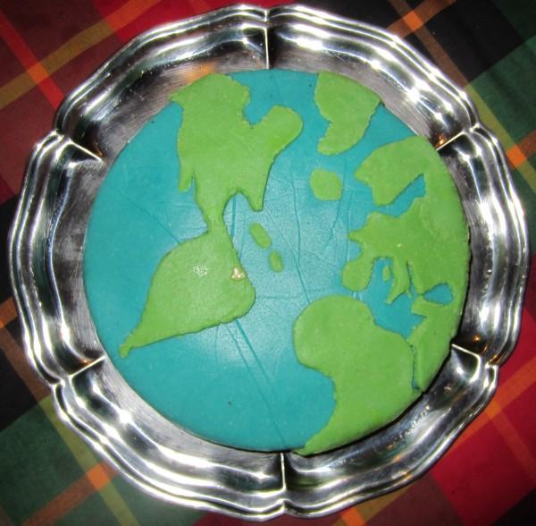 gâteau planète1