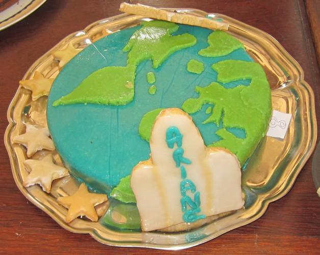 gâteau planète2