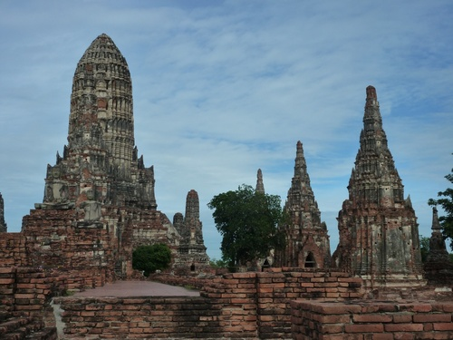 Escale à Ayutthaya