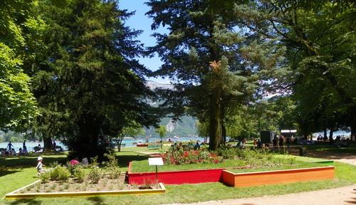 La biodiversité dans les Jardins de l'Europe à Annecy