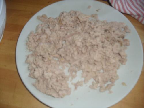 Boulettes de thon pour ce soir^^