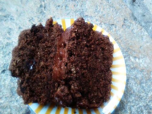 Cake chocolat/Sésame {Vegan}