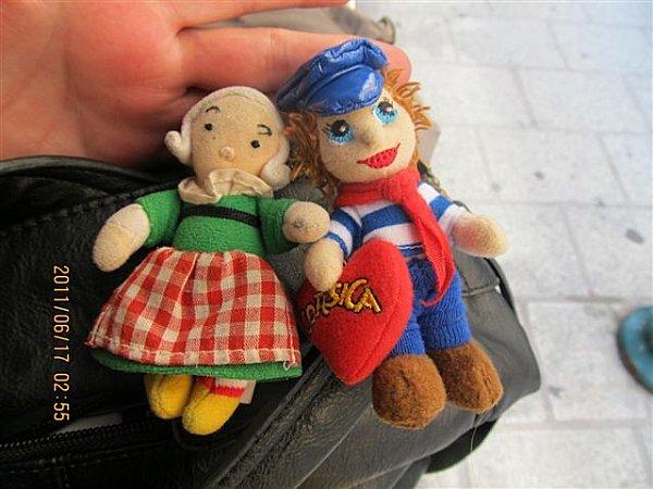 Bouts-de-choux - Bécassine et son fiancé corse - Photo : Di