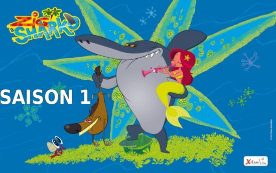 Zig & Sharko Saison 1 logo
