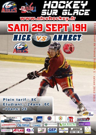 Affiche NICE-ANNECY