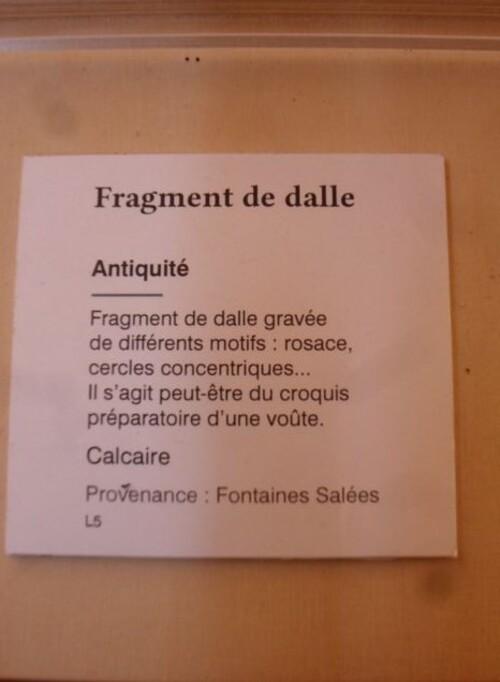 Echappée belle Bourguignonne. Saint-Père. Les fontaines salées (fin).