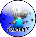 Badge du monde d'animal crossing ds