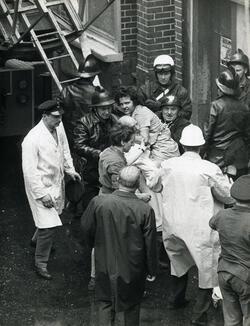 """Incendie de l'INNO : La """"dame au sac"""" a été retrouvée 50 ans plus tard + vidéo reportage"""