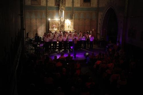 Le Choeur de Gascogne le Samedi 5 Septembre