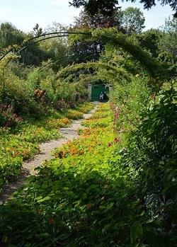 ... Giverny, chez Claude Monet...